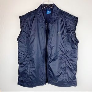 adidas Jackets & Coats - NWT Adidas Tubular Padded Vest Navy Blue Medium
